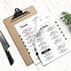 Minimal Food Menu - GraphicRiver Item for Sale