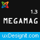 Megamag - K2 Magazine and Bloging for Joomla 3 Responsive Templates Nulled