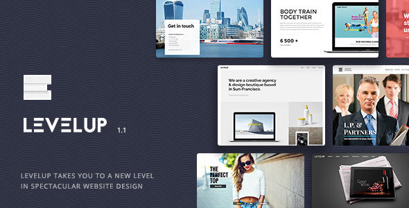 LEVELUP - Responsive Creative Multipurpose WordPress Theme - Creative WordPress