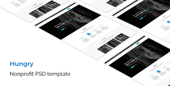 Hungry - Nonprofit PSD Template - Charity Nonprofit