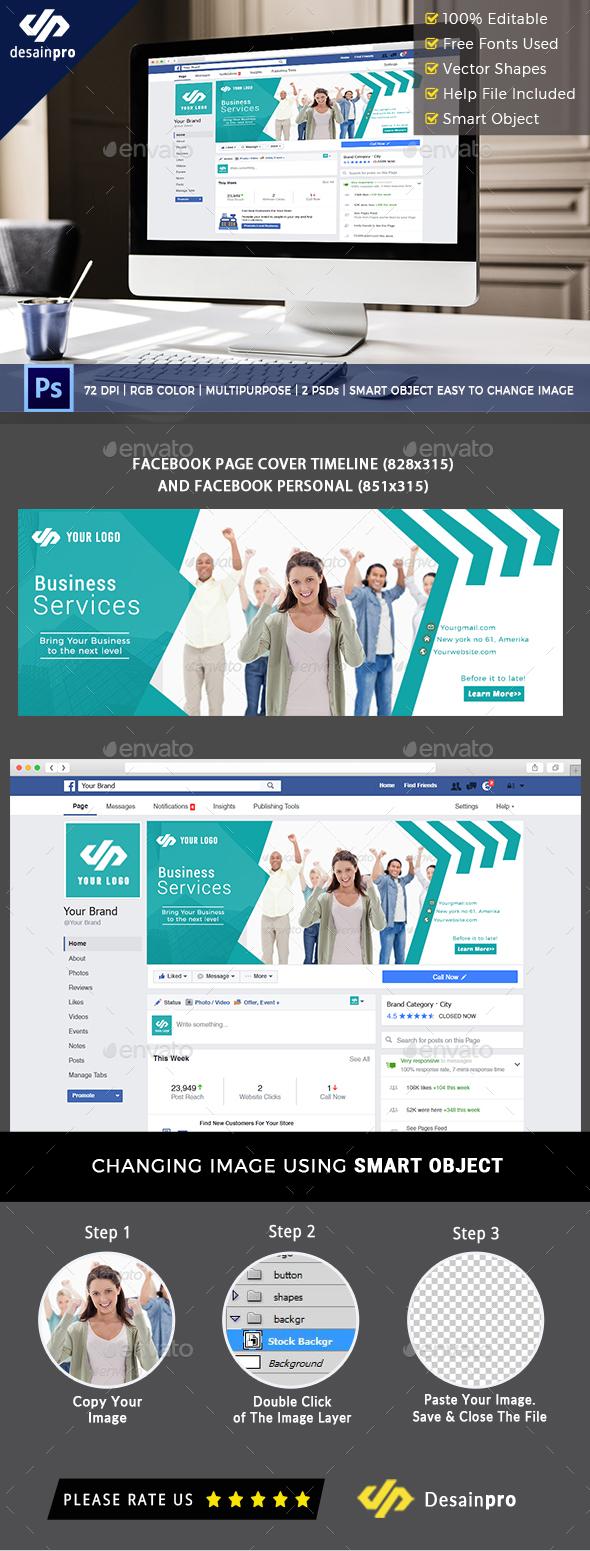 Business Services Facebook Timeline Cover - Facebook Timeline Covers Social Media
