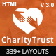 CharityTrust - Nonprofit, Crowdfunding & Charity HTML5 Template Nulled