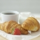 Croissants Served with Coffee