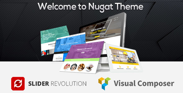 Nugat - Responsive Multi-Purpose WordPress Theme - Business Corporate
