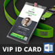 Conference VIP Pass ID Card - GraphicRiver Item for Sale