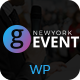 Conference / Meetup / Festival Event WordPress Theme | G-Event WP Theme Nulled