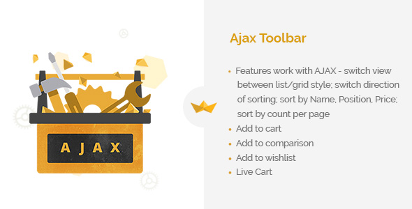 AJAX toolbar