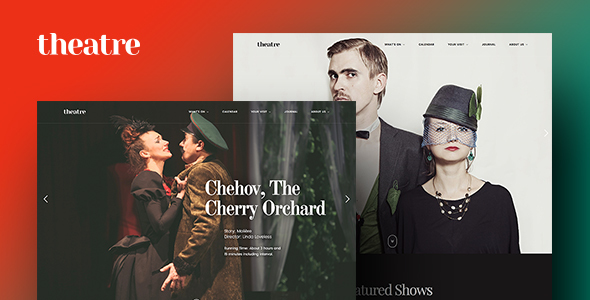 Theatre WP | Art & Culture WordPress Theme