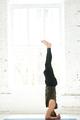Yoga man doing yoga workout - PhotoDune Item for Sale