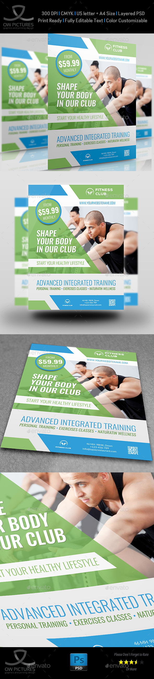Fitness - GYM Flyer Vol.4 - Sports Events