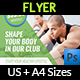 Fitness - GYM Flyer Vol.4 - GraphicRiver Item for Sale