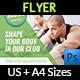 Fitness - GYM Flyer Vol.4