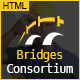 The Bridges Construction Building HTML Template Nulled