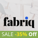 Fabriq - Personal WordPress Blog Theme Nulled