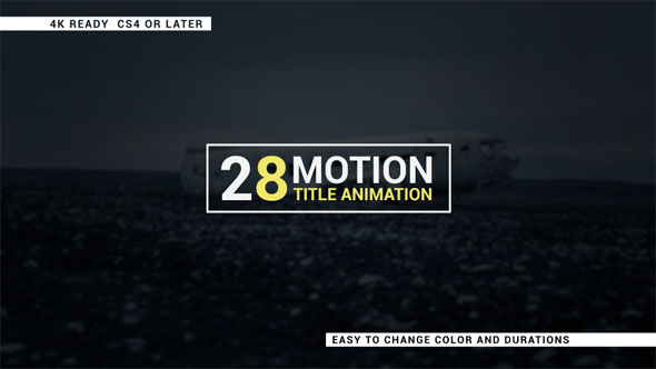 motion 5 title templates - simple and unique motion titles corporate after effects