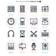 Studying Line Icon Set - GraphicRiver Item for Sale