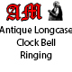 Antique Longcase Clock Bell Ringing