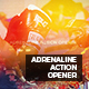 Adrenaline Action Opener - VideoHive Item for Sale