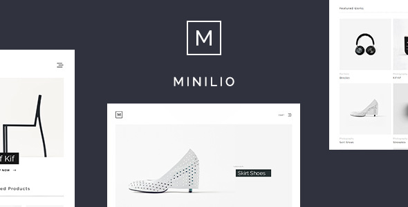 Minilio - Minimalist Multi-Purpose WordPress Theme - Portfolio Creative