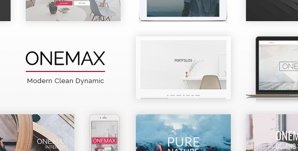 OneMax | Responsive Multi-Purpose WordPress Theme