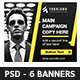 Corporate Web Banner Template - GraphicRiver Item for Sale