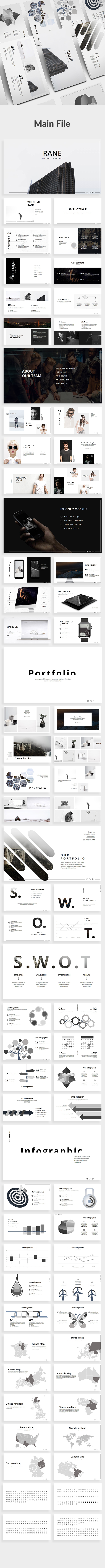 Rane Minimal Powerpoint Template - Creative PowerPoint Templates