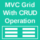 Asp.Net MVC full Ajaxify and bootstrap Grid With CRUD Operation
