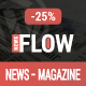 Flow News - Magazine and Blog WordPress Theme Nulled
