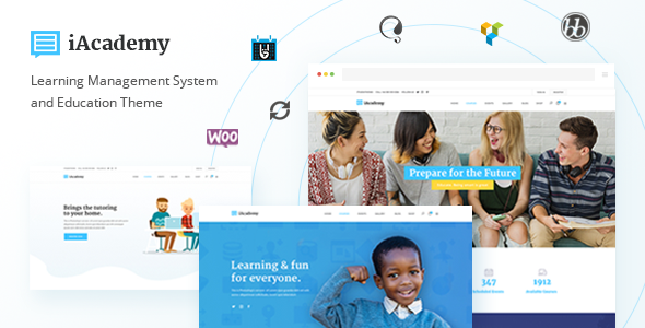 iAcademy - A Comprehensive Learning Management System and Education Theme - Education WordPress