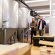 men working at craft brewery or beer plant - PhotoDune Item for Sale