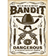 Vintage Wild West Bandit Poster - GraphicRiver Item for Sale