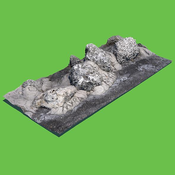 Ba-Rock Obama (3D Scan) - 3DOcean Item for Sale