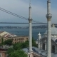 Aerial View of the Ortakoy İstanbul Mosque - VideoHive Item for Sale