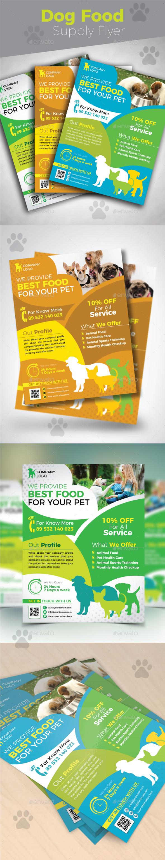 Dog Food Supply Flyer - Commerce Flyers