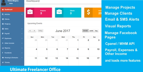 Ultimate Freelancer Office - CodeCanyon Item for Sale