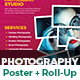 Photography Poster & Roll-Up Banner Template Bundle - GraphicRiver Item for Sale