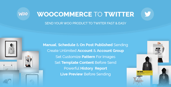 Woocommerce Solution to Twitter (WooCommerce)