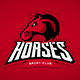 Horses Mascot - GraphicRiver Item for Sale