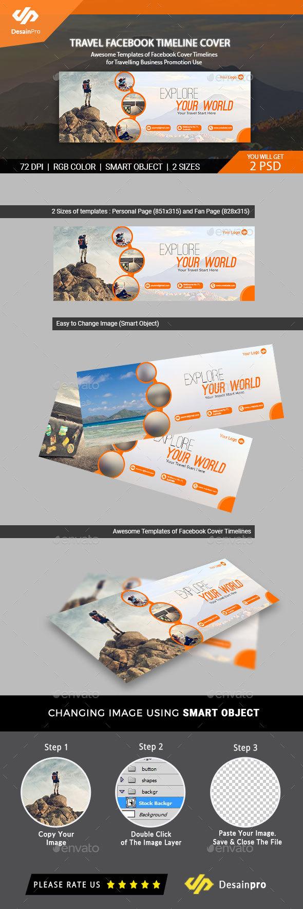 Traveling Facebook Timeline Cover - AR - Facebook Timeline Covers Social Media