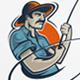 Fisherman / Fishing Logo - GraphicRiver Item for Sale