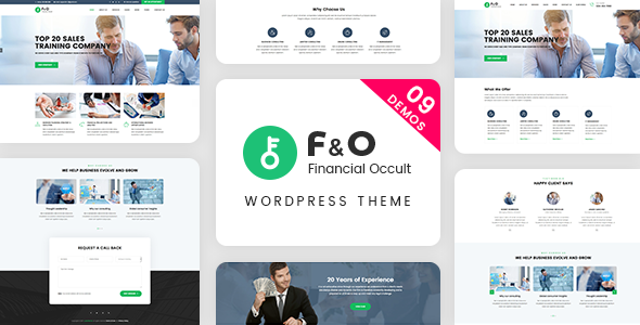 F&O - Consultant Finance WordPress Theme