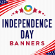 Independence Day Banners - GraphicRiver Item for Sale