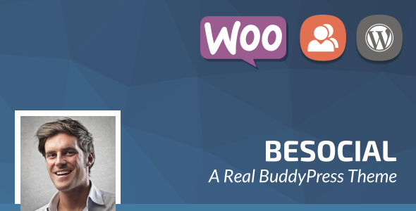 Besocial - BuddyPress Social Network & Community WordPress Theme - BuddyPress WordPress