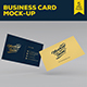 Business Card Mockup Template - GraphicRiver Item for Sale