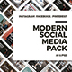 Modern Social Media Pack - GraphicRiver Item for Sale