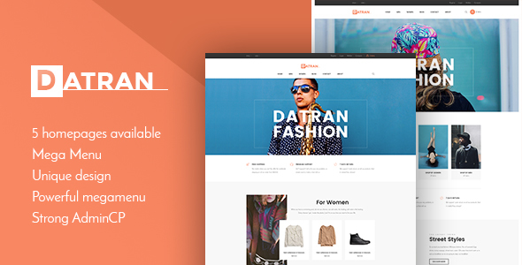 Image of Datran - Responsive Multiple Prestashop Theme