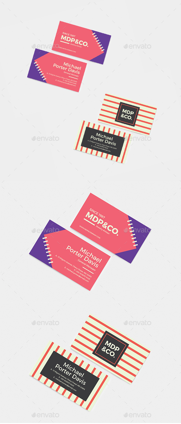 Professional & Creative Business Cards Bundle - Business Cards Print Templates