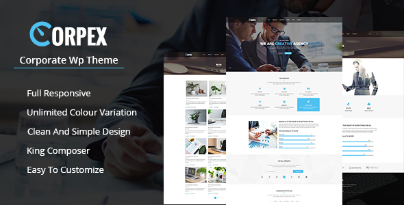 Corpex – Corporate WordPress Theme