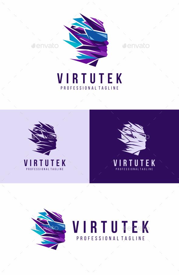 Virtual Human Logo - Humans Logo Templates