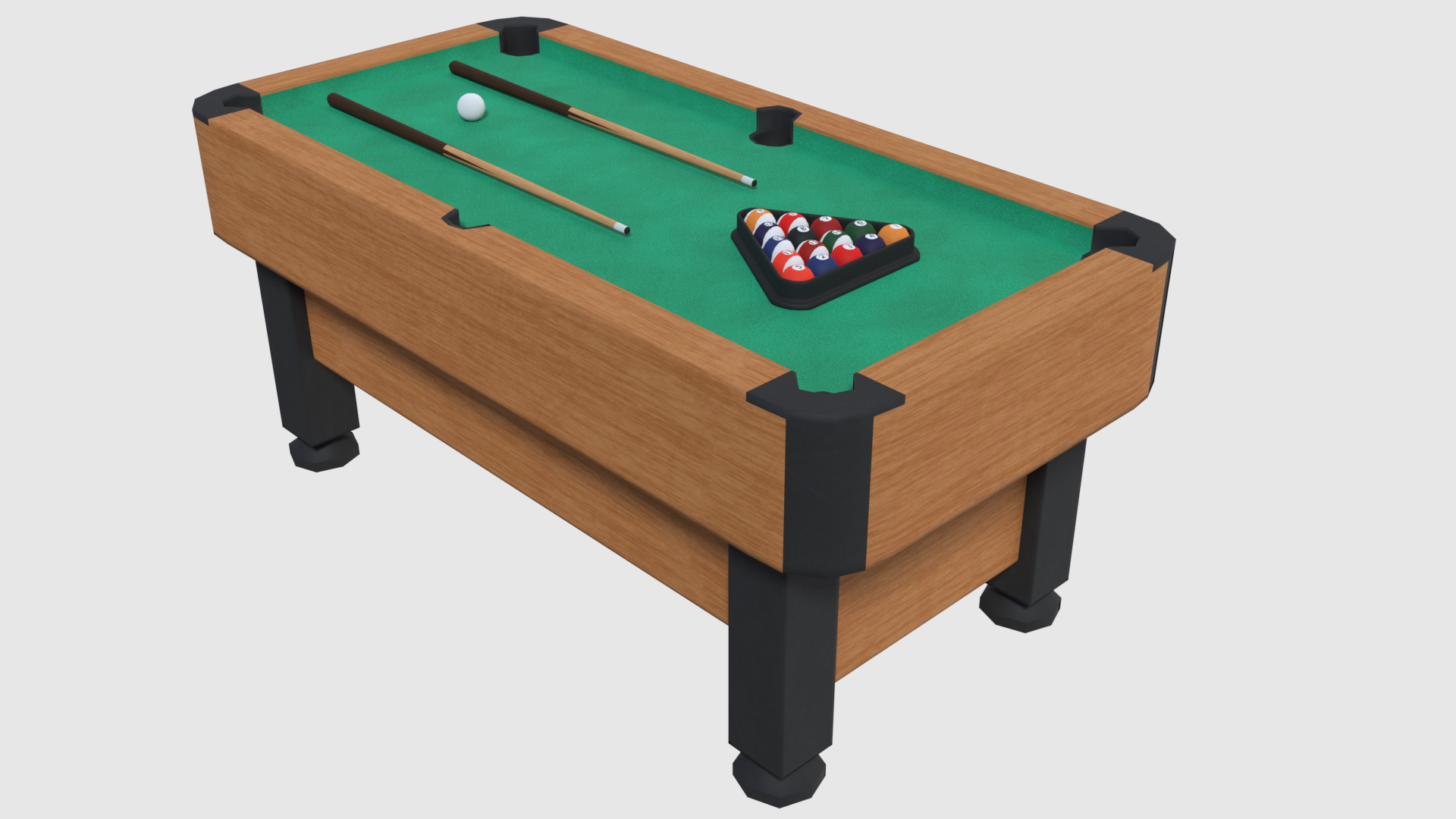 Pool Table - Game Ready